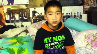 My little cousin singing Baby