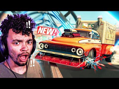 The Crew 2 - NEW Stunt ICE CREAM TRUCK Customization! (Tkachenko Ice Hunter - The Game Update) |
