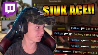 Min sjukaste ACE NÅGONSIN?!?! (Twitch highlight)