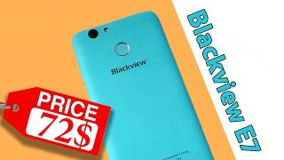 blackview E7. Распаковка посылки и внешний обзор. Дешевый смартфон с 4G. Конкурс. Сделано в Китае