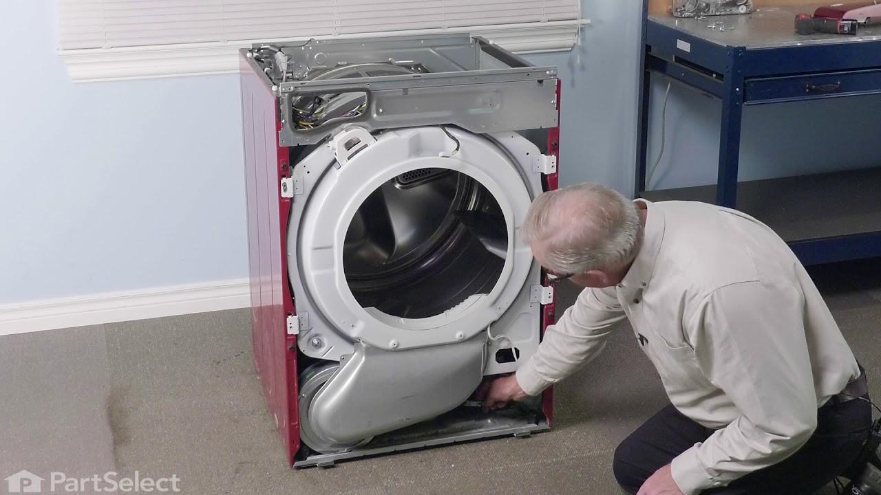 Lg Dryer Repair >> Lg Dryer Repair How To Replace The Thermistor Lg 6323el2001b
