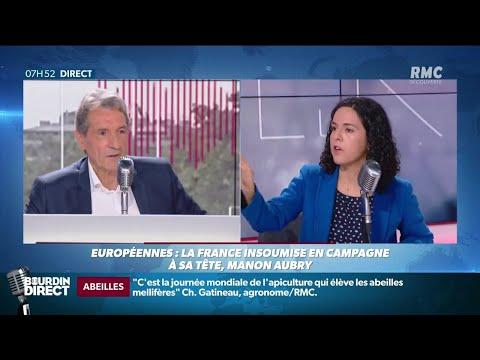 Elections européennes: Manon Aubry précise son programme écologique