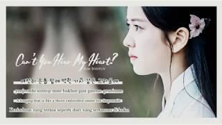 Video [Rom/Eng/Ind Lyrics] Kim Sohyun (김소현) - 내 맘이 들리지 않니 (Can't You Hear My Heart?) download MP3, 3GP, MP4, WEBM, AVI, FLV April 2018