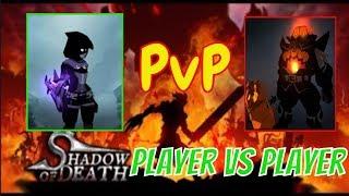 Shadow Of death -PvP- Dark knight original not mod apk screenshot 5