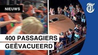 Veerboot loopt vast, 400 passagiers geëvacueerd