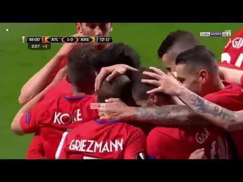 Aletico Marid vs Arsenal 1-0 Bán kết cúp C2 2018 - kết quả bóng đá đêm 4/5|| Vua Bóng Đá