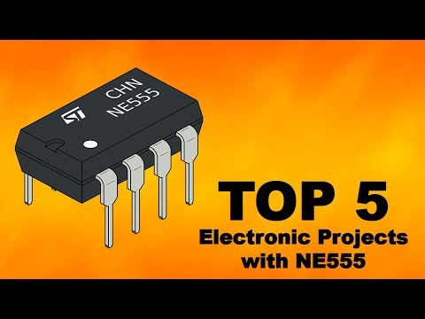 5 Awesome Projects Using NE555 - By STE