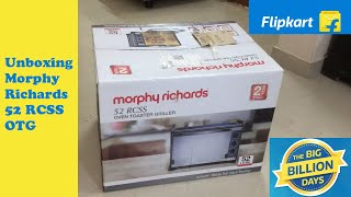 Morphy Richards 52 Litre 52RCSS Oven Toaster Grill (OTG) | Unboxing | Review