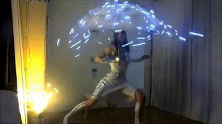 Wie man mit dem Schirm tanzt - mit Kungfire