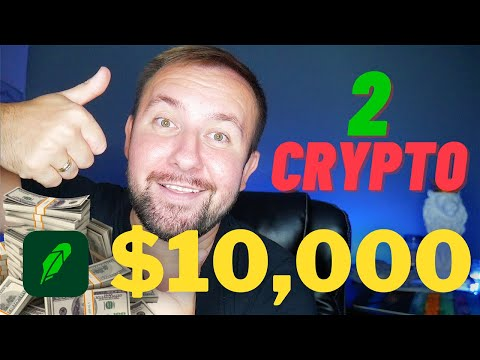 I Just Invested $10,000 Into These 2 Crypto Coins on Robinhood 💰