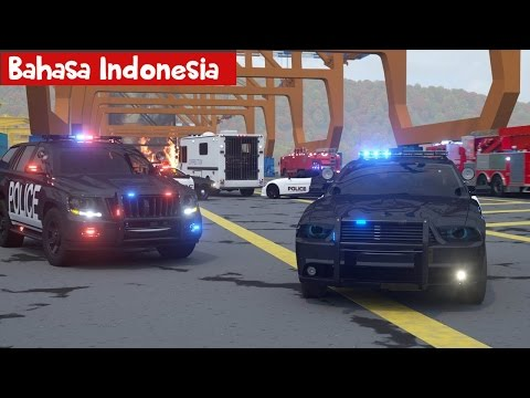 Mobil Polisi Sersan Cooper bag-2 ( bahasa indonesia ) - Real City Heroes (RCH) - Videos For Children