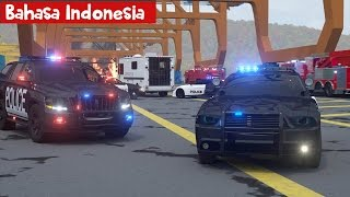 Video Mobil Polisi Sersan Cooper bag-2 ( bahasa indonesia ) - Real City Heroes (RCH) - Videos For Children download MP3, 3GP, MP4, WEBM, AVI, FLV Agustus 2018