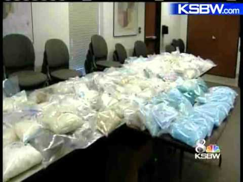 More Than 600 Pounds of Meth Seized In Gilroy Drug Bust