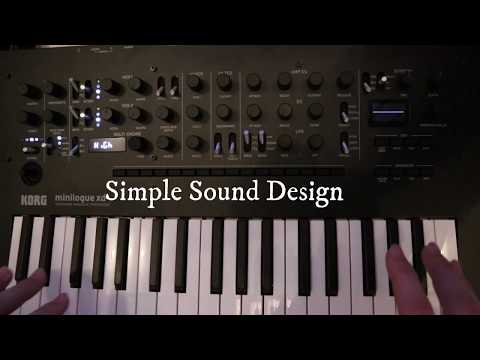 Minilogue XD Sound Design Tutorial 1 thumbnail