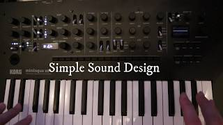 Minilogue XD Sound Design Tutorial 1