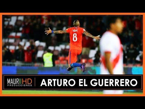 Arturo Vidal - El Guerrero - Chile 2 Perú 1 (Trovador del Gol-11/10/2016)