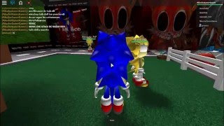 Sonic. exe y Tails Doll (ROBLOX)
