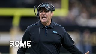 NFL Coaching Seats Heat Up After Panthers fire Ron Rivera | The Jim Rome Show