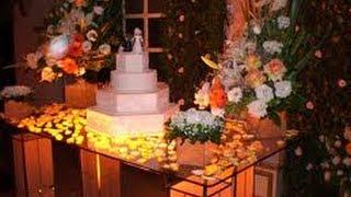 Decoração de Mesa para Casamentos no Campo ou Casa de Festas - ideias Simples de Ornamentação