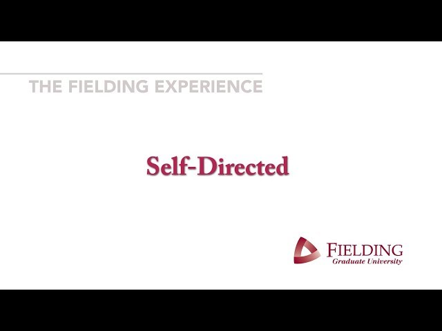 Fielding Graduate University - SelfDirected
