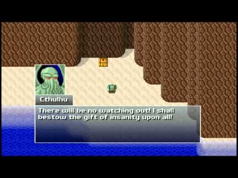 Let's Play Cthulhu Saves The World 1 - Must Have Been A Cave Of DEATH!