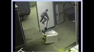 Funny Work Accident