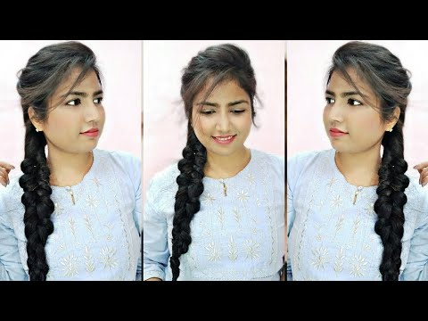 easy-messy-braid-hairstyle|messy-braid-hairstyle-for-long-to-medium-hair|easy-and-perfect-tutorial