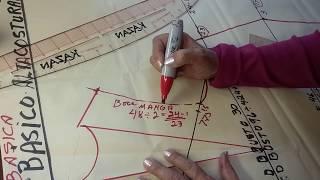 Patrón básico del maniquí. Lección #3 (OFICIAL de Alta costura Kazan)