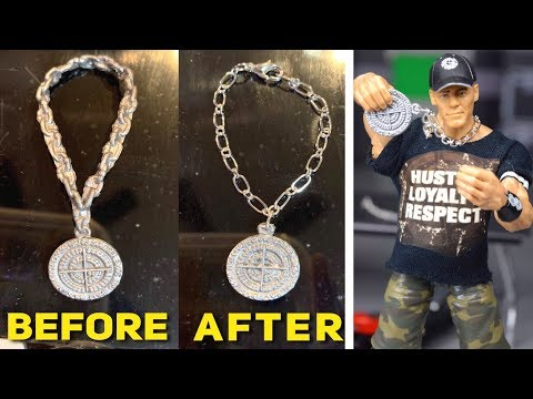 HOW TO MAKE CHAINS FOR WWE FIGURES!