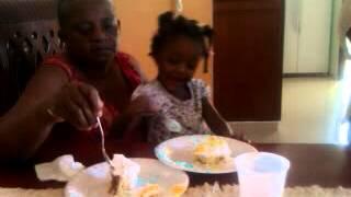Danna Cumpleaños Dé Ata Y Tía Candida