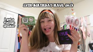 MY 15TH BIRTHDAY HAUL 2019