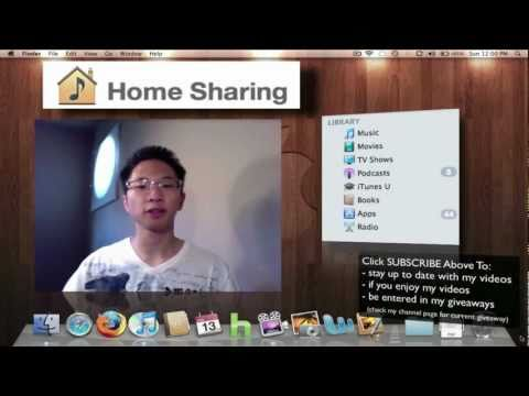 Home Sharing Transfer and Sync iTunes Libraries Together