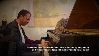 Tones and I - Dance Monkey - Piano cover (with lyrics)