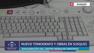 EN VIVO | Inauguración de tomógrafo y obras en el hospital de Susques