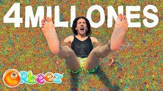 Llenamos con 4 Millones de Orbeez una Piscina #RulesBeachHouse Ep. 5