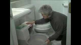 Автоматический туалет для кошек CatGenie  Размер и установка