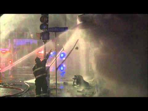 Swampscott Ma 2nd Alarm Fire 132 Humphrey St. 3/1/2011