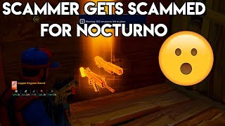 FORTNITE SCAMMER SCAMS ME FOR SUPER SHREDDER! (I GET REVENGE!) | Fortnite STW