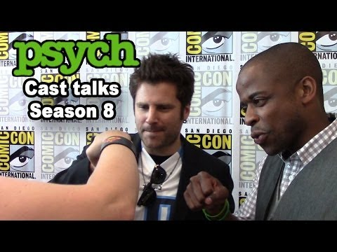 Psych Cast Talks Season 8 - James Roday, Dulé Hill, Maggie Lawson, Timothy Omundson Interview