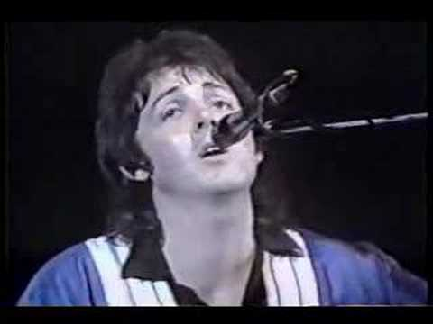 Yesterday Wings live 1975