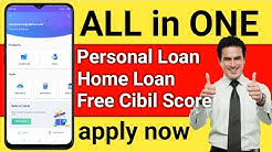 All in One App Apply Credit Card | Personal loan | Home loan | free cibil Score | hindi