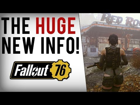 FALLOUT 76 NEW INFO! Trading, Bounties, Radiant Quests, Engine/Gameplay Changes & More!