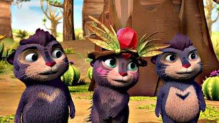 🐾 Лео и Тиг 🐾 Летний новый сборник | Детям про животных 🐱| Мультфильм HD