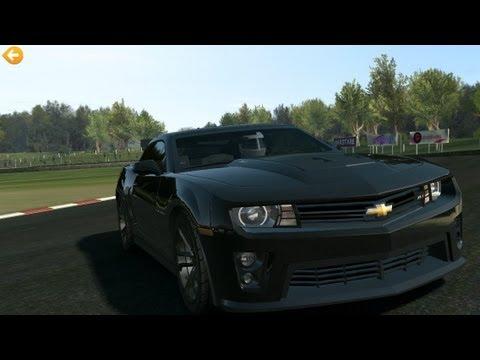 Real Racing 3 New Chevrolet Camaro Zl1 Youtube