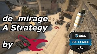 CS:GO Tutorial | Mirage STRAT Tactic by Mousesports - ESL Pro League Season #4 2017 (english)