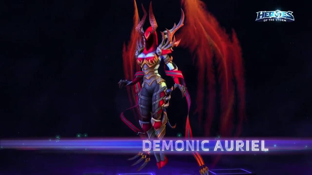 demonic auriel new hero