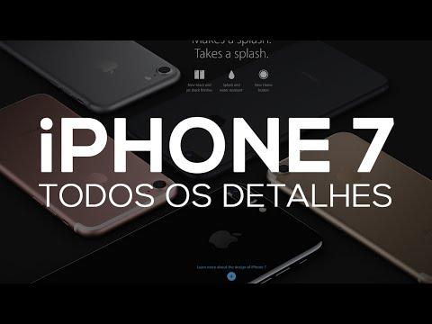 CONHEÇA O iPHONE 7 e iPHONE 7 PLUS!