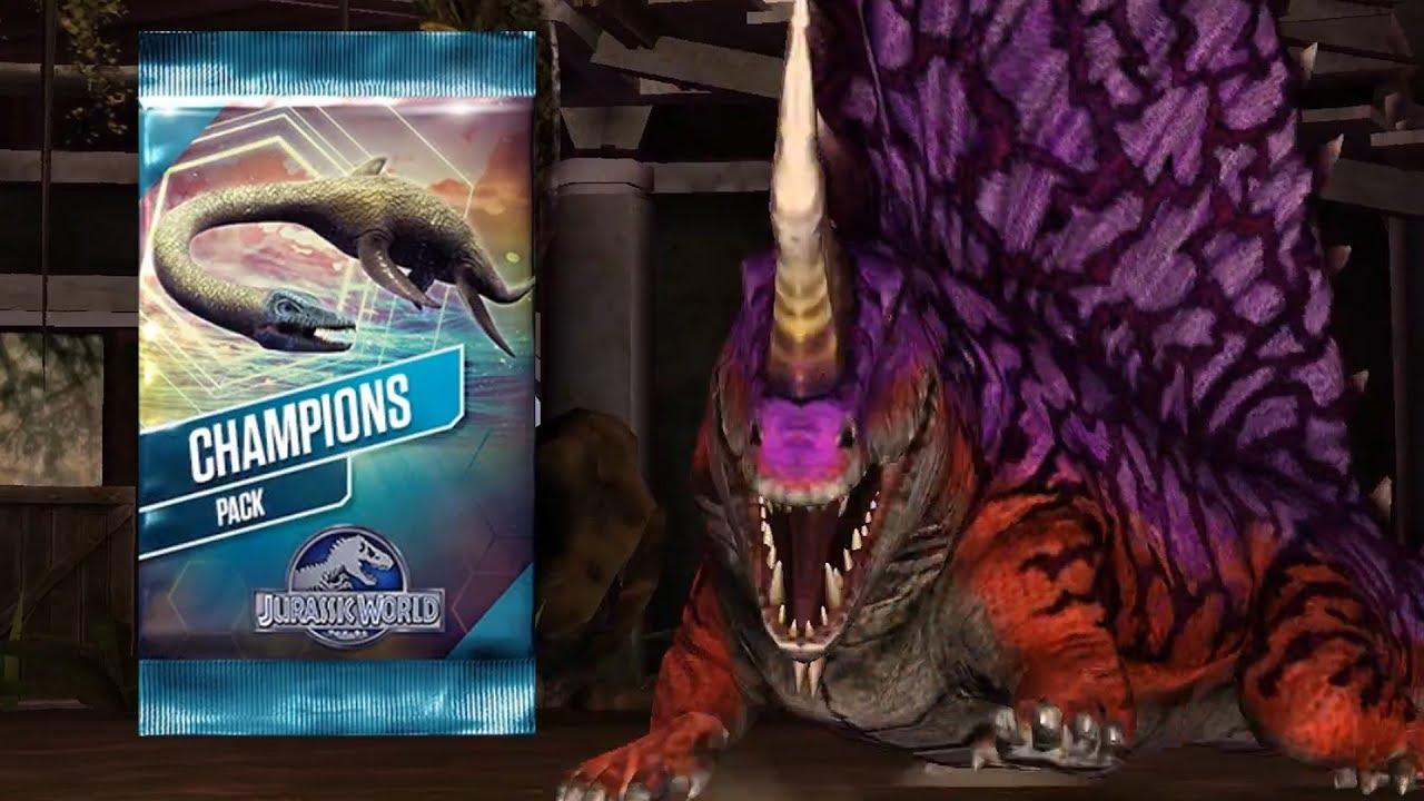 ✔️Hoàn Thành Thử Thách Clash Of Champion   Jurassic World Khủng Long Game Android, Ios
