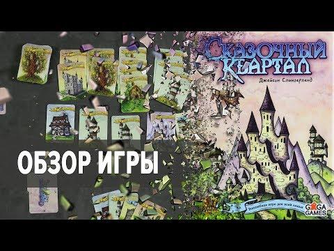 Сказочный Квартал Настольная игра Обзор
