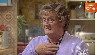 OUTTAKE: Mrs Brown speaks too soon - Mrs Brown's Boys | Christmas Specials 2016: Ep 2 - BBC One